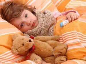 ребенок болеет, первоклассник заболел