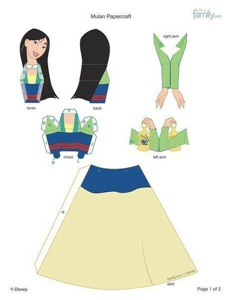 принцессы, принцесса, игры из бумаги, Дисней, принцессы Диснея